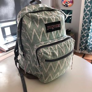 Jansport backpack with durable suede bottom